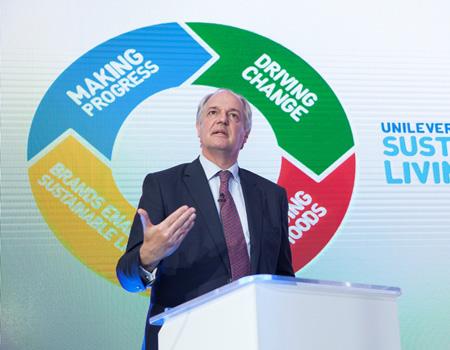 Unilever Dünya Başkanı Paul Polman planın üç yıllık performansını ve gelecek hedeflerini anlattı.