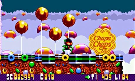 Video oyunlara sızan 6 marka: Zool / Chupa chups