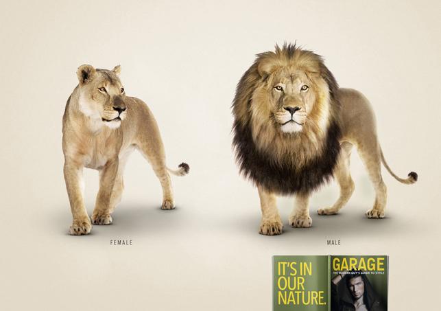 Garage Magazine: Havalı olmak erkeğin doğasında var - Aslan