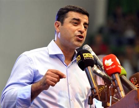 Selahattin Demirtaş'ın da sloganı belli oldu