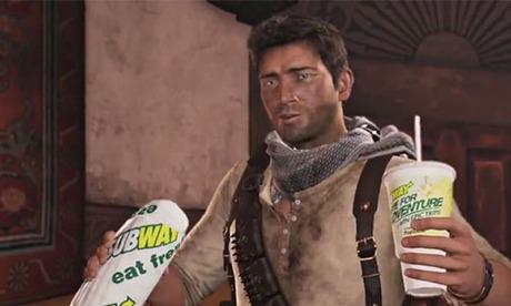 Video oyunlara sızan 6 marka: Uncharted / Subway
