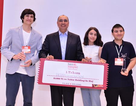 Ülker'in yarışmasını ÖDTÜ ekibi kazandı