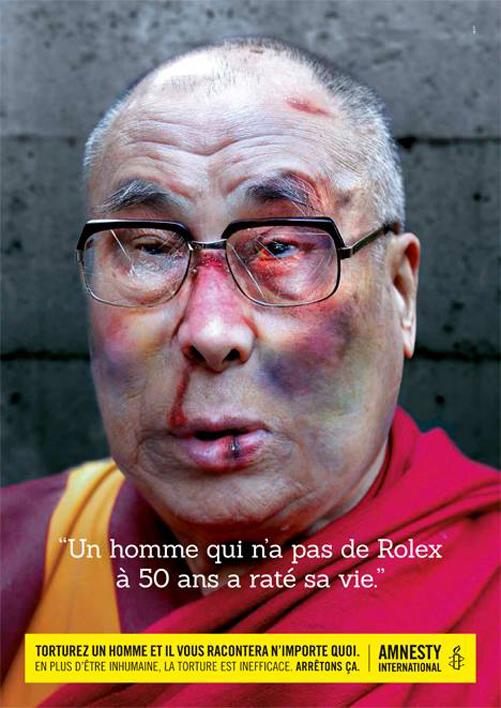 Dalai Lama işkence altında