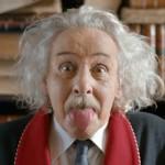 Einstein'ın ünlü pozunun hikayesi Eti Tutku'nun reklam filminde.