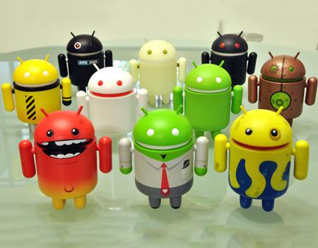 Android cephesinde bölünmüşlüğün resmi: 18.796 farklı cihaz