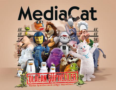 MediaCat, Ağustos sayısında marka öykülerinin çizgi başrollerini kapağa taşıdı.
