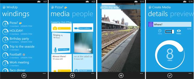 WindUp, yaşanan sorunlar nedeniyle Snapchat'e güvenini yitiren kullanıcıları hedefliyor.