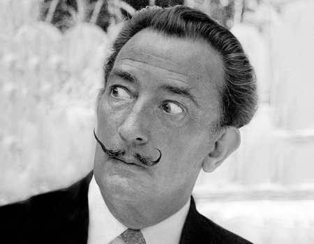 Salvador Dali ve sürrealist reklamlar silsilesi