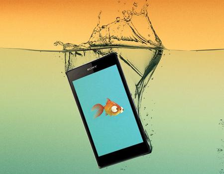 Sony'den sadece su altında çalışan uygulamalar