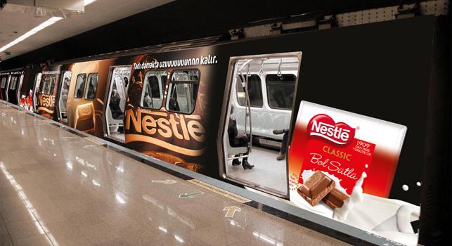 Nestlé'den uzun etkili kampanya