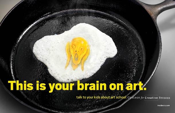 """College for Creative Solution tarafından münferit olarak ve reklam ajansı Team Detroit ile birlikte hazırlanan seriler """"uyuşturucudan beter"""" bir illet olan sanat hakkında farkındalık yaratarak ortalama düşünce tarzının sanata bakış açısını ironik bir dille eleştiriyor."""