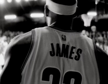 Nike'tan LeBron James'li kısa film