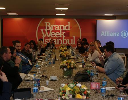 Allianz, Brand Week'te Power 100 Blogger'larını ağırladı