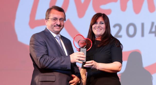 Türkiye'nin lovemark'ları ödüllerine kavuştu: Çaykur
