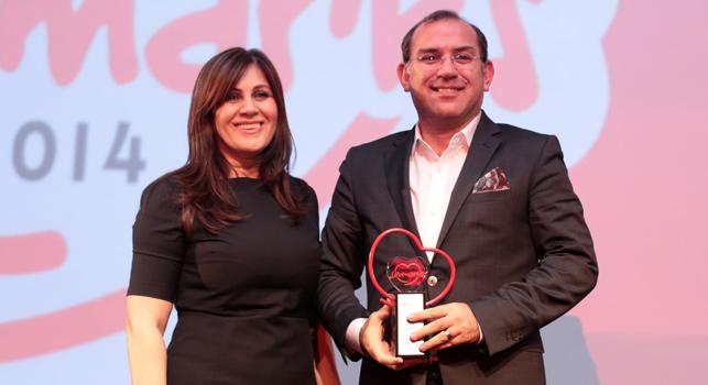 Türkiye'nin lovemark'ları ödüllerine kavuştu: Samsung