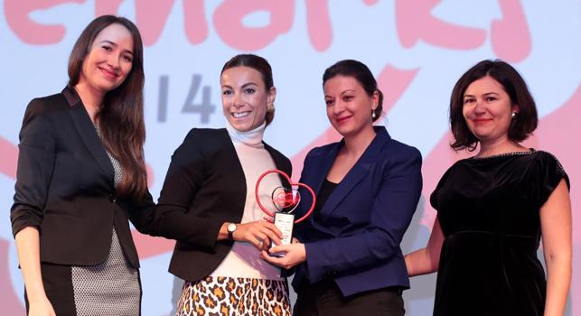 Türkiye'nin lovemark'ları ödüllerine kavuştu: Avon