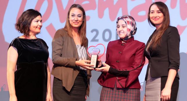 Türkiye'nin lovemark'ları ödüllerine kavuştu: Ülker