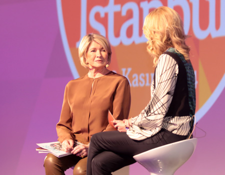 Brand Week Istanbul Martha Stewart
