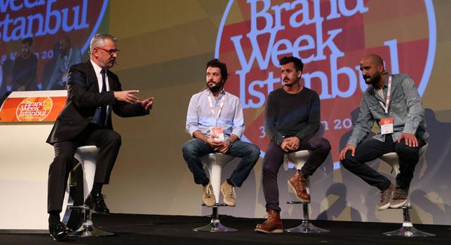 Brand Week Istanbul Enis Orhun, Taylan Yapıcı ve Arda Erdik'in oturumuyla devam etti.