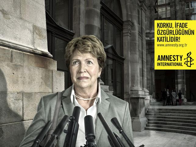 MediaCat Felis Ödülleri 2014 - Yaratıcılık Kategorisi: Uluslararası Af Örgütü / Düşünce Özgürlüğü - Muhabir