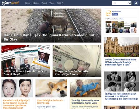 Mynet'ten sosyal içerik platformu: Mynet Trend