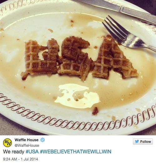 Win: Waffle House