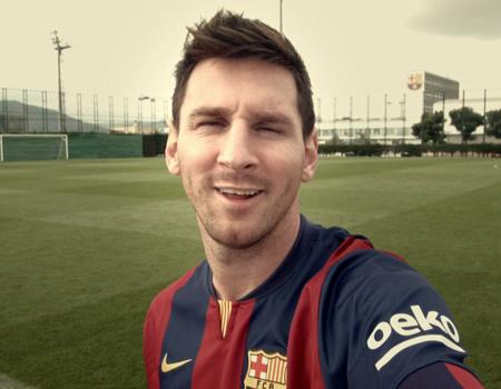 Barcelona oyuncuları ve Beko çalışanları bir videoda buluştu.