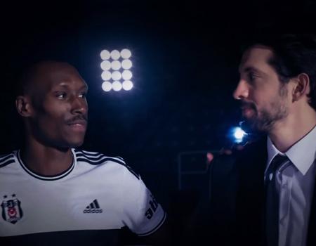 Beşiktaşlı futbolcu ve basketbolcular aynı reklam filminde