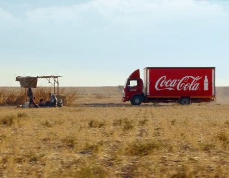 Coca-Cola'nın mutluluk kamyonları