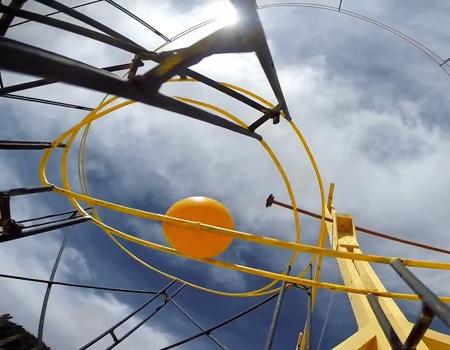 National Geographic'den Rube Goldberg düzeneği