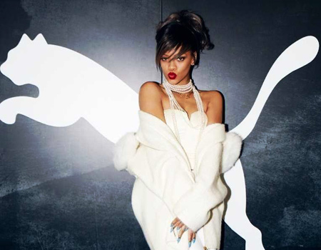 Rihanna Puma'nın kreatif direktörü oldu