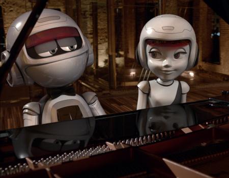 Çelik ve Çeliknaz'dan piyano senfonisi