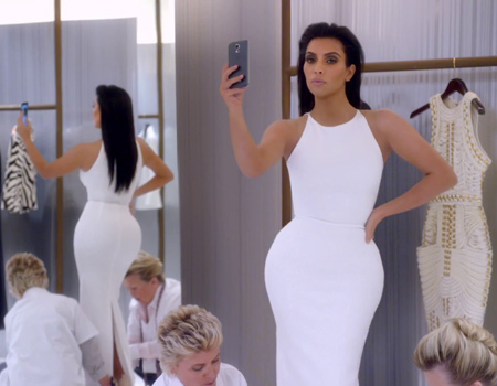 Kim Kardashian'dan mobil internet kotası kullanım kılavuzu
