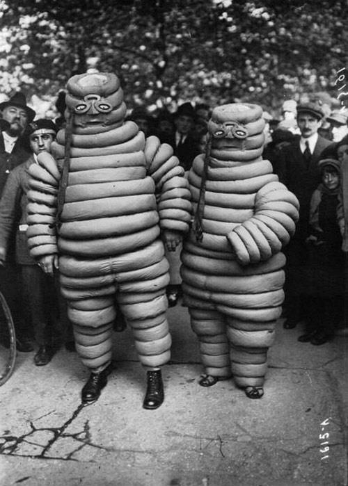 Michelin maskotu lastik adamın 100 yıllık evrimi