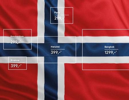 Norveç Hava Yolları'ndan yaratıcı ilan
