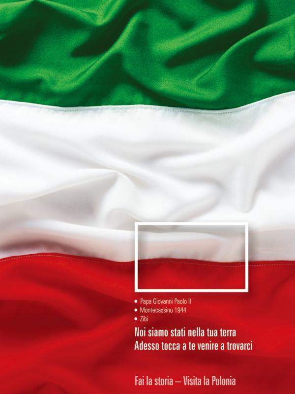 Polonya Turizm Ajansı - Bayrak İçinde Bayrak: İtalya