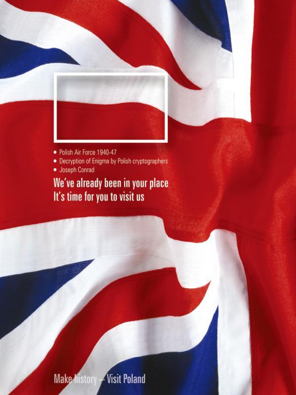 Polonya Turizm Ajansı - Bayrak İçinde Bayrak: İngiltere