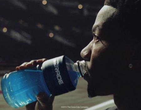 Powerade'in yeni reklam filminde ünlü basketbolcu Derrick Rose rol alıyor.
