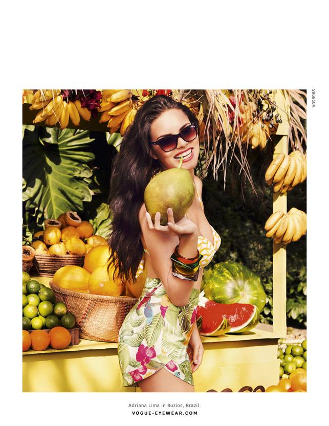 Adriana Lima / Vogue Eyewear