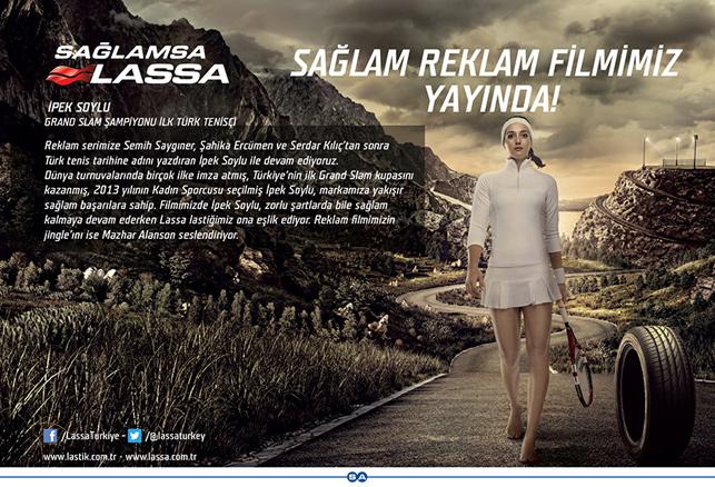 Lassa'nın yeni yol arkadaşı: İpek Soylu