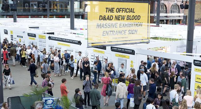 Karşınızda D&AD New Blood Ödülleri
