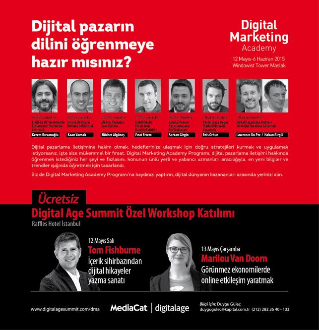 Digital Marketing Academy katılımcıları yıldızlarla buluşuyor