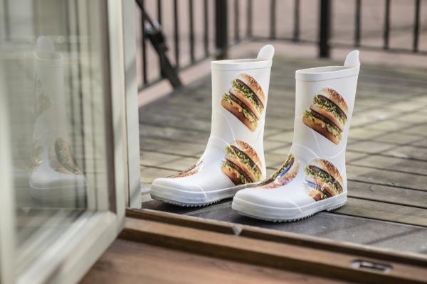 McDonald's tekstile el attı