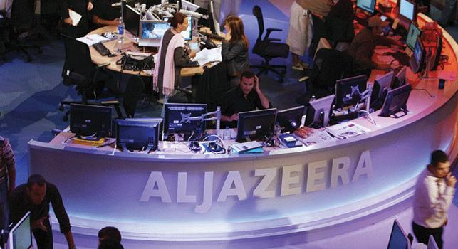 Prime time esnasında Al Jazeera'yı izleyen 17 bin kişi var