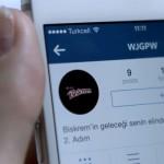 Biskrem mucidini Instagram'da aradı