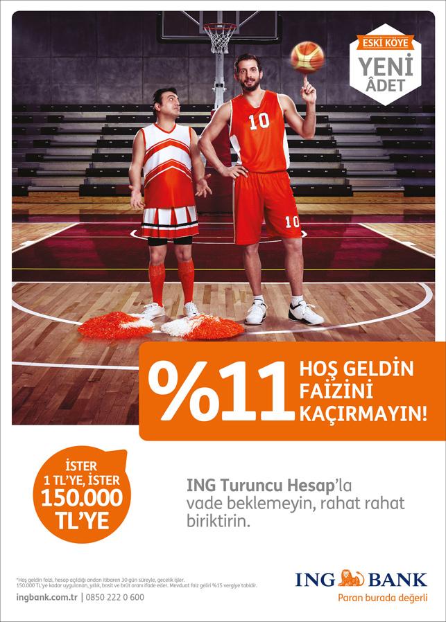 Kerem Tunçeri ING Bank'ın reklam yüzü oldu
