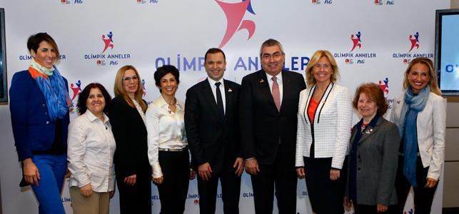 P&G Türkiye'den Olimpik Anneler'e destek