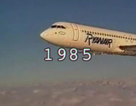 Ryanair'den 30 yılın özeti