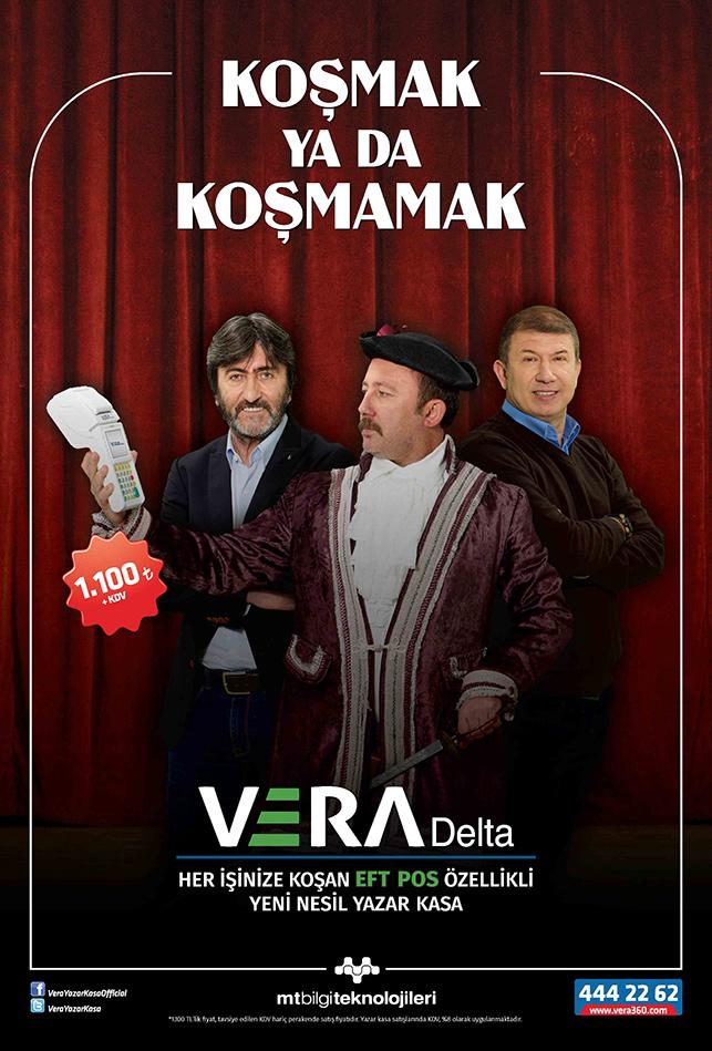 Vera Delta'nın yeni filminde Rıdvan Dilmen, Tanju Çolak ve Sergen Yalçın rol alıyor.