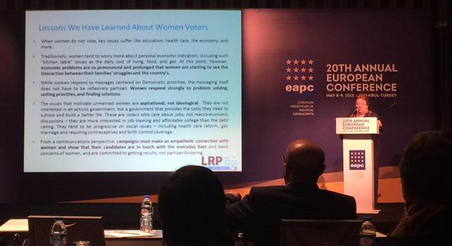 Kadın seçmenlerin ve kadın adayların algılarla imtihanı: Celinda Lake